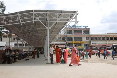 Bus Terminal in Mangalore