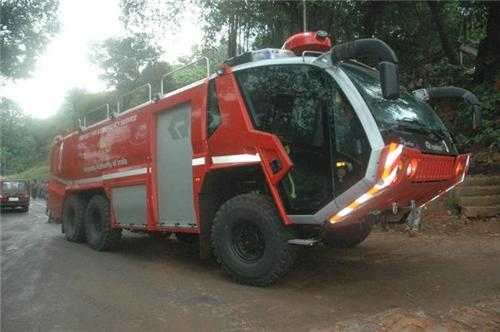 Fire Brigade vehicle of Mangalore
