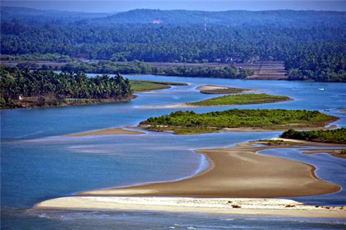 Famous beach in Mangalore