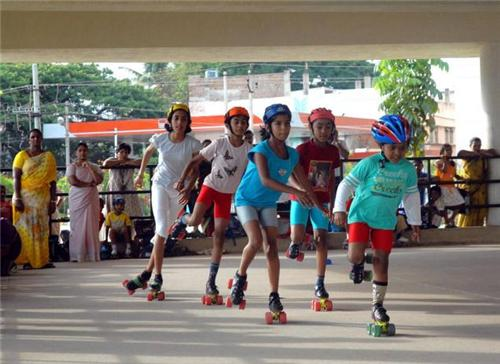 Skating in Mangalore