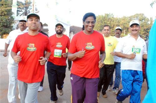 Marathon Race in Mangalore