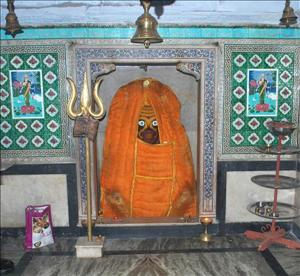 Deity at Gokarneshwar Mahadev Temple