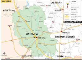 Map of Mathura