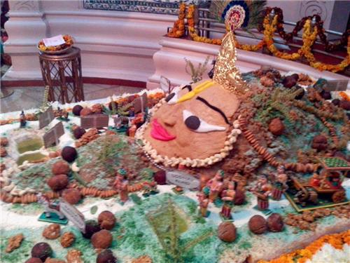 Govardhan Puja in Mathura