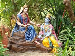 Deities at Krishna Janmasthan in Mathura