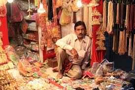Shopping for Deity Dresses in Mathura