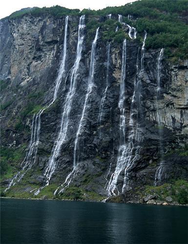 Waterfalls in Meghalaya