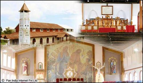 Famous Religious Place of Cheerapunji, Meghalaya