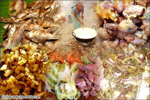 Traditional Foods and cuisine in Tura, Meghalaya
