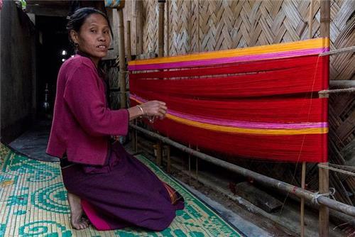weaving in mizoram