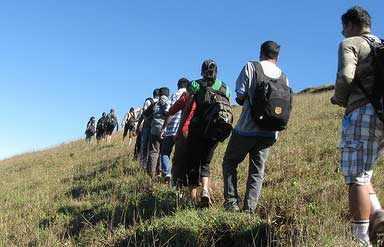 Mountaineering in Mizoram