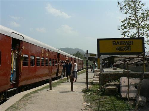 Bairabi Railway Station