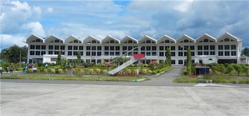 Lengpui Airport in Aizawl.