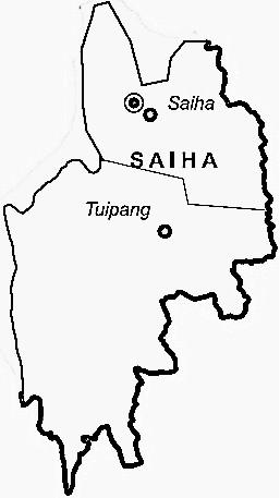 Saiha map