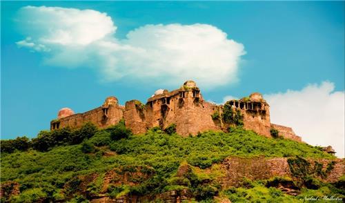 Raisen fort in Madhya Pradesh