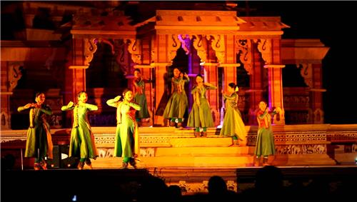 The festival of Khajuraho is often done in this area