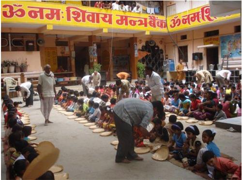 Welfare Activities conducted in Namah Shivaya Mission