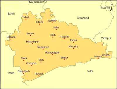 Geography of Rewa