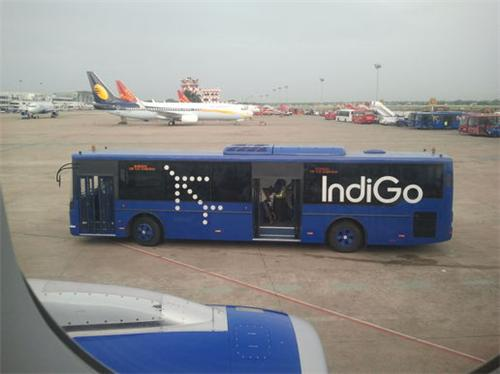 Buses at Mumbai Airport