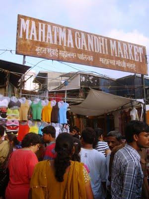 Famous Cloth Market in Mumbai