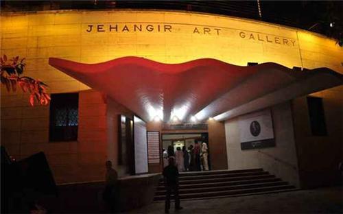 Jehangir Art Gallery.