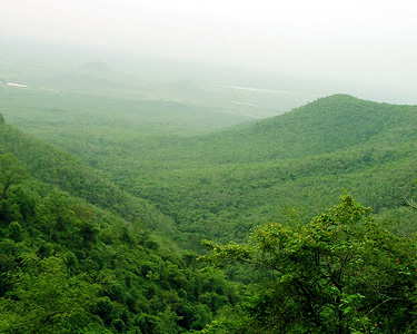 Famous Hill near Mysore