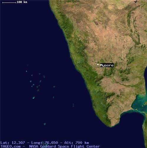 Geography of Mysore