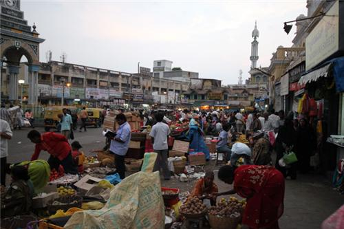 Markets in Mysore