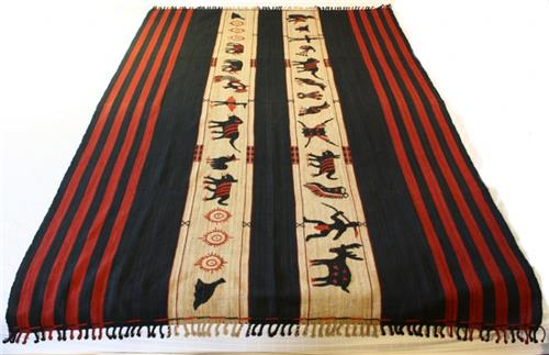 Yimchunger technique used in naga weaves