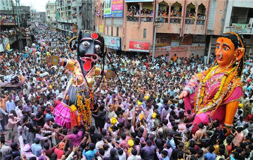 Marbat celebration in Nagpur