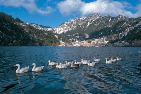 Famous Naini Lake