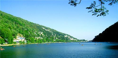 Physical features of Nainital