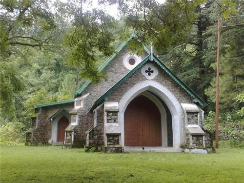 St John Church in Wilderness in Nainital