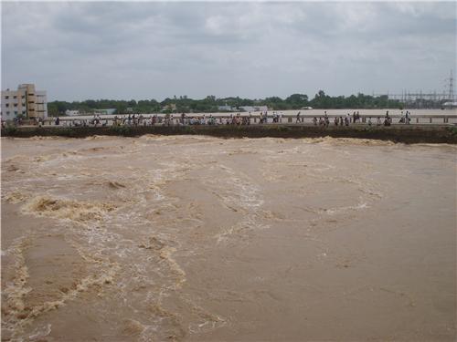 Kundu River in Nandyal