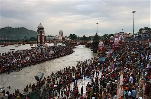 Maha Kumbh Mela festival in Nashik