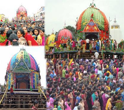 Lord Jagannath Temple at Baripada
