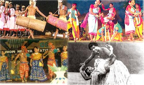 the World Famous Jhumar Dance of Baripada
