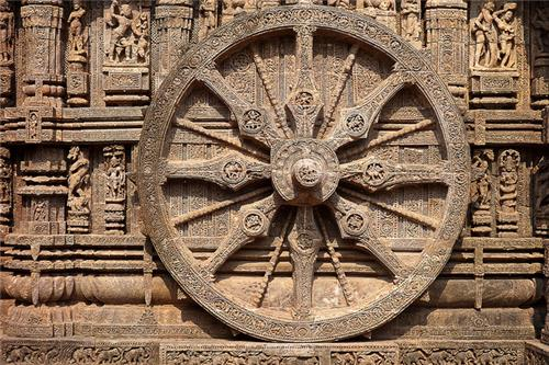 Famous Sun Temple in Konark