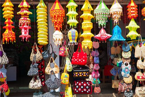 Shopping in Konark