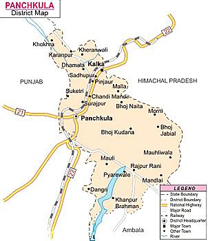 Administration in Panchkula