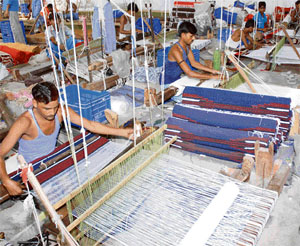Handlooms in Panipat