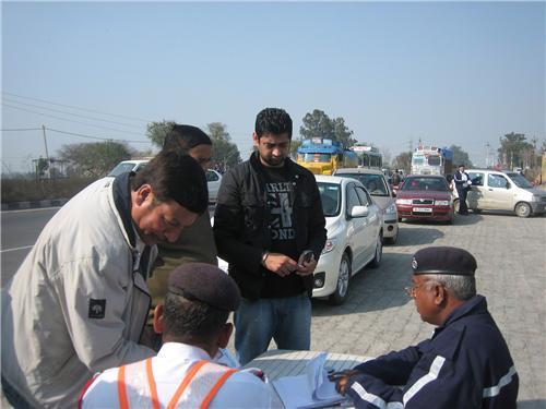 Traffic Management in Panipat