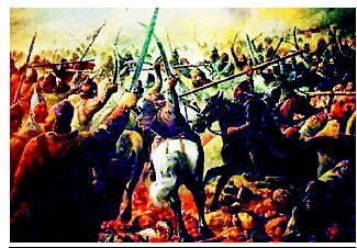 Skirmishes at Third Battle of Panipat