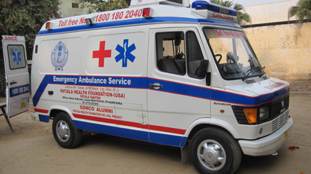 Emergency Ambulance in Patiala