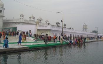 Sarovar in the Gurudwara