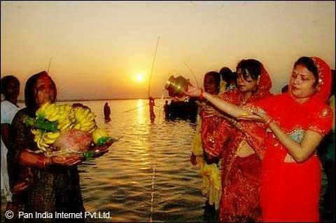 Chhat Puja in Bihar