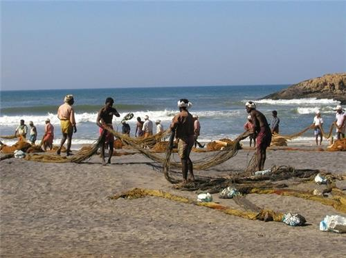 Pondy Fishing Village