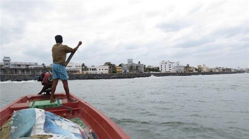A Fishermen in Pondicherry