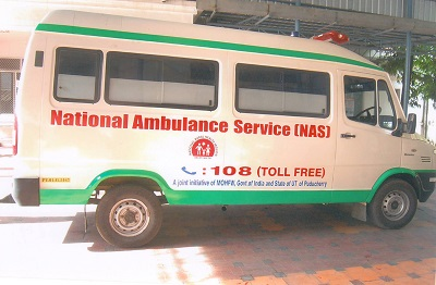 Puducherry Ambulance