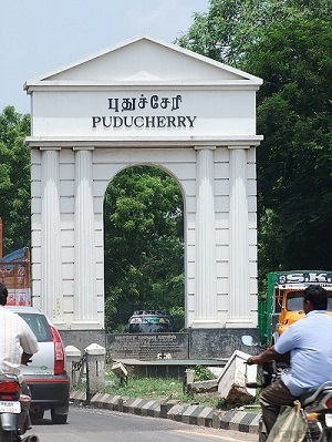 Puducherry Distance Chart